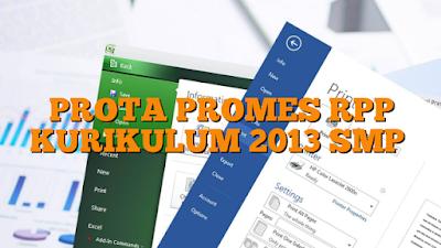 Prota dan Promes SMP Kurikulum 2013