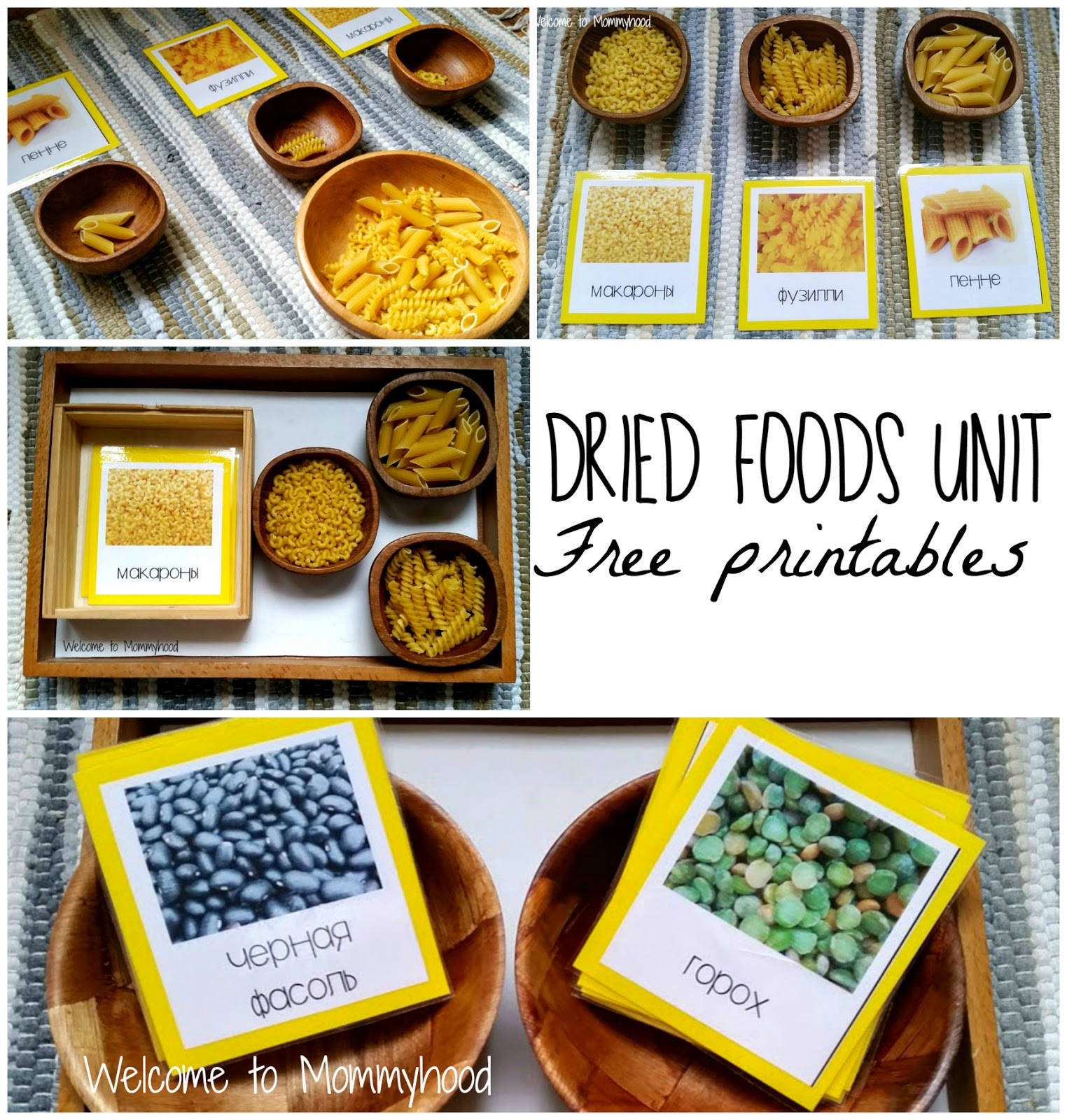 Grains Pasta Beans And More Free Printables