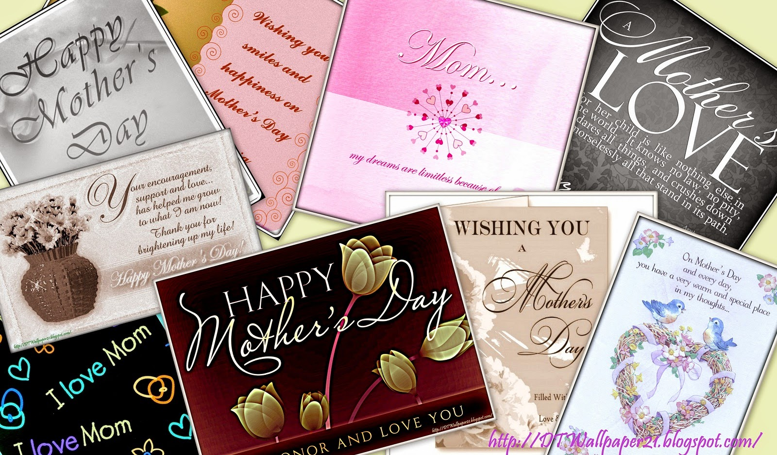 Background Screensavers: Mother's Day