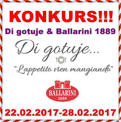 KONKURS - Di gotuje & Ballarini 1889 - do wygrania patelnia granitowa!