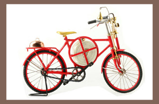 foldable bike model, premium gift, metal craft, medel