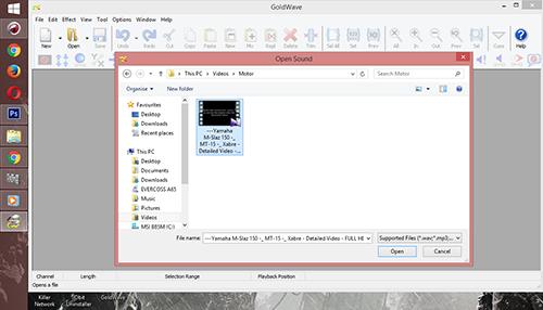 Cara Mengubah File Video Menjadi File MP3 Dengan Gold Wave