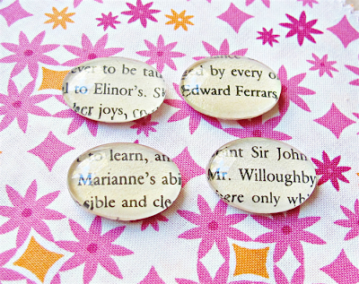 image sense and sensibility magnet set glass book page text jane austen elinor dashwood edward ferrars mr willoughby domum vindemia marianne dashwood