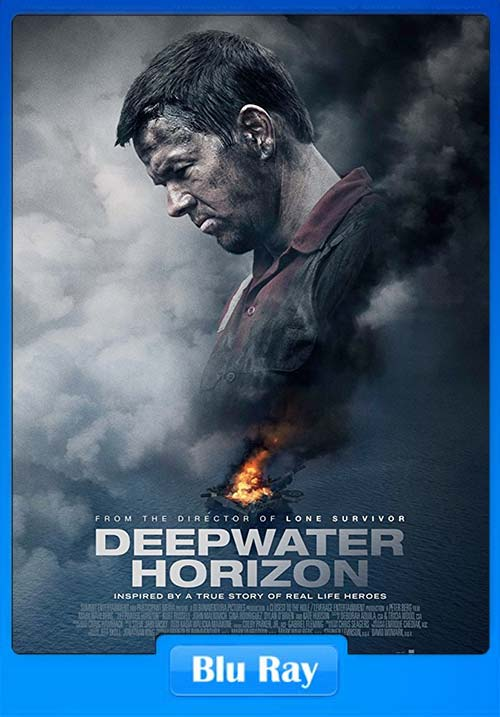 Deepwater Horizon 2016 Dual Audio Hindi 720p BluRay ESubs x264 | 480p 300MB | 100MB HEVC
