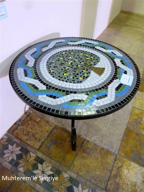 mosaic table