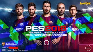 PES Mobile 2018 Original v3.8