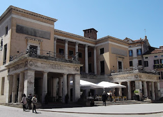 The Caffè Pedrocchi in Padua witnessed fighting in the 1848 uprising against the Austrians