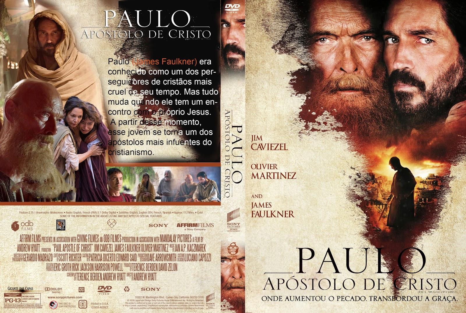 Resultado de imagem para Paulo, Apóstolo de Cristo capa