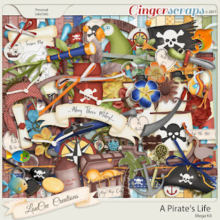 A Pirate's Life from LouCee Creations
