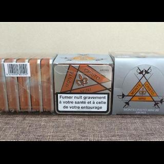 Xì gà Montecristo mini hàng xuất châu Âu