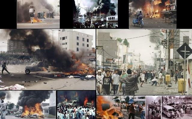 Peristiwa Kelam Kerusuhan Mei 1998 Jakarta
