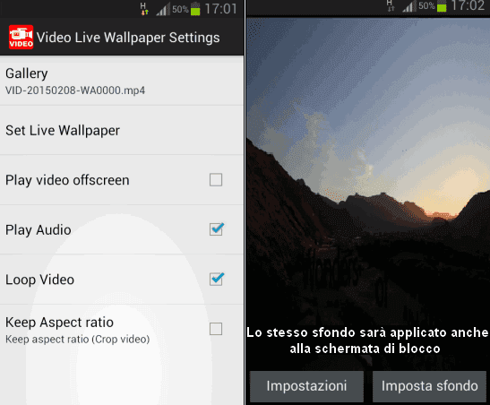 Video Live Wallpaper Pro FREE app Android