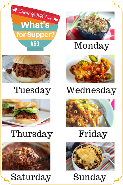 What's for Supper Sunday meal plan