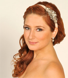 Marvelous Bridal Hairstyles With Headbands For Long Hiar With Veil Half Up Hairstyles For Women Draintrainus