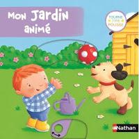 Mon jardin animé - Première de couverture - Editions NATHAN