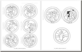stations of the cross coloring pages - stations of the cross for children coloring pages