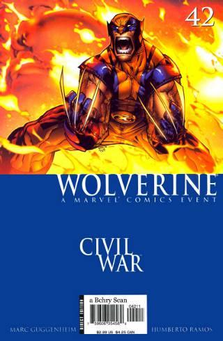 Civil War: Wolverine #42 PDF