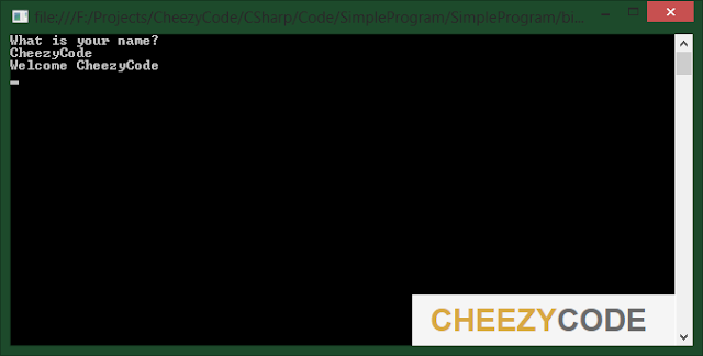 cheezycode-readline-writeline-csharp