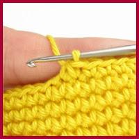Disminuciones a crochet