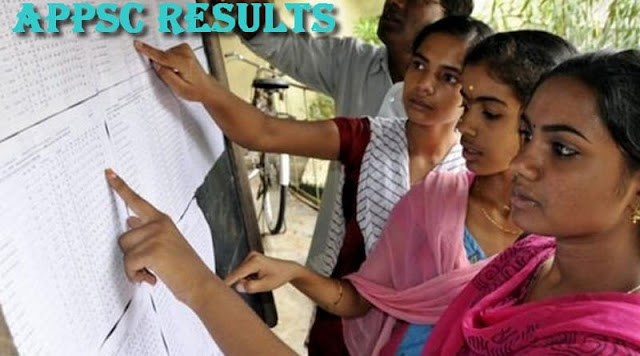 APPSC Results