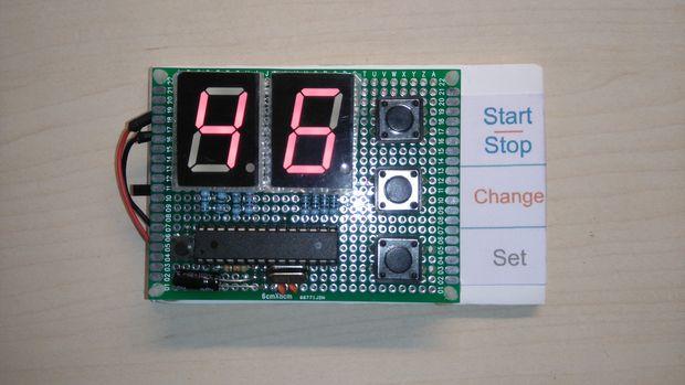 #56 Χρονόμετρο αντίστροφης μέτρησης με το Arduino