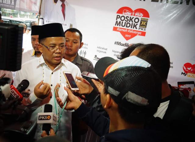 Luar Biasa !! 7.500 Kader PKS Dikerahkan di Posko Mudik 2017