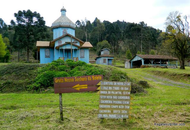Igreja ucraniana em União da Vitória, Paraná