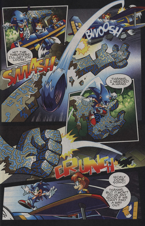 Read online Sonic The Hedgehog comic -  Issue #208 - 19