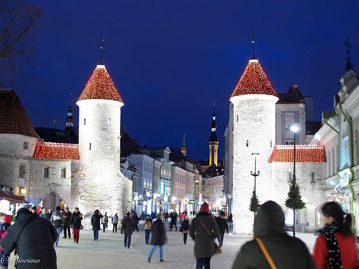 Vanhankaupungin jouluvalot