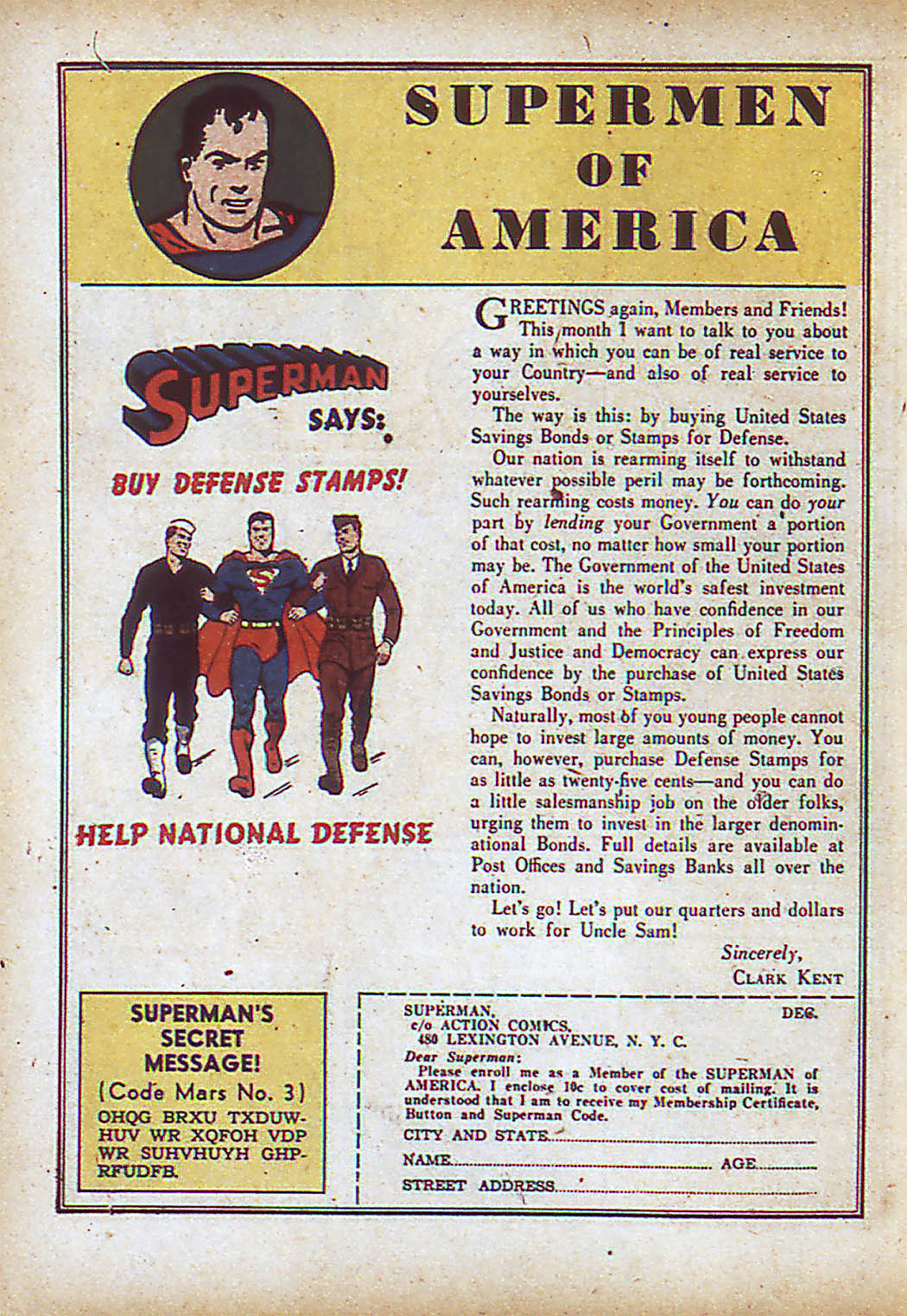 Read online Action Comics (1938) comic -  Issue #43 - 16