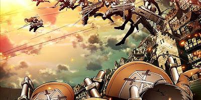 تقرير انمي Shingeki no Kyojin (هجوم العمالقة)