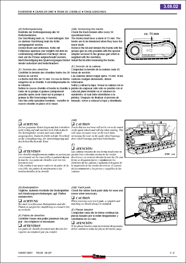 WIDOS Spare Parts Catalog 2013