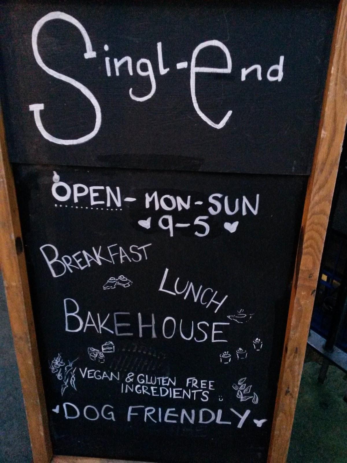 Singl End Cafe And Bakehouse Menu