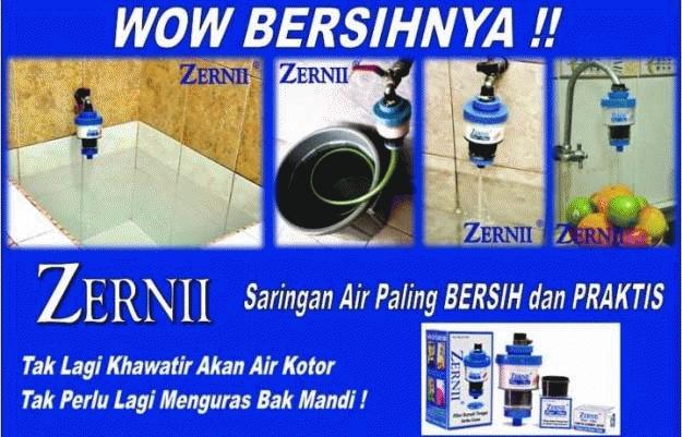 Zernii Filter Air solusi penyaring air kotor di rumah anda dengan hasil Efektif