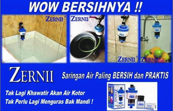 Jual Zernii Filter Air termurah