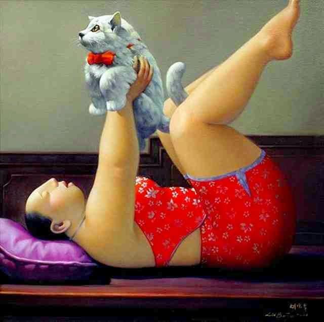 Современный китайский художник. Liu Baojun