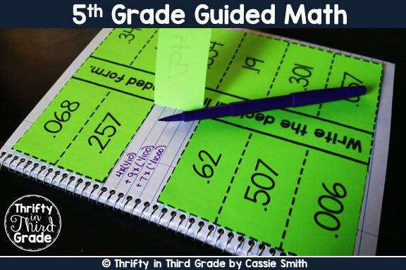 https://www.thriftyinthirdgrade.com/2017/05/5th-grade-guided-math.html