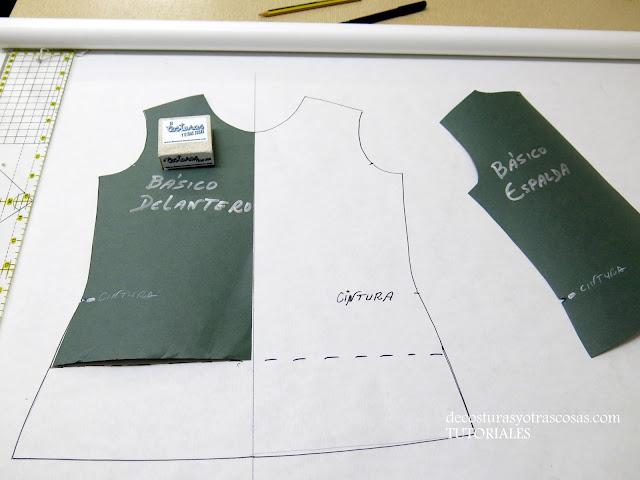 ajustes a un patrón básico de camiseta