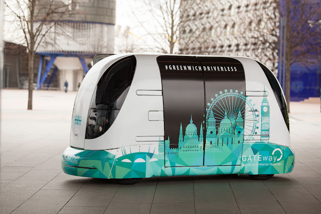 Meet 'Harry', the small public and autonomous bus that will start operating in London