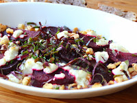 """Local"" Roasted Beets with Goat Cheese and Walnuts – Kill Once, Cook Twice"