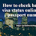 how to check bahrain visa status online by passport number
