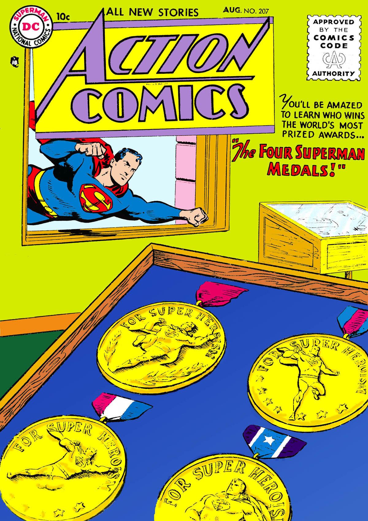 Action Comics (1938) 207 Page 1