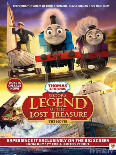 Thomas & Những người bạn: Truyền thuyết kho báu b�? mất của Sodor