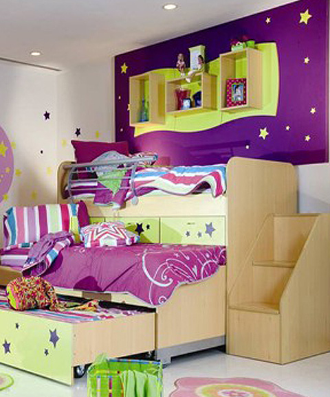 Dormitorios infantiles en venezuela via - Decoracion cuarto infantil nina ...