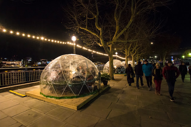 Igloo restaurant-Queen's walk-Londra
