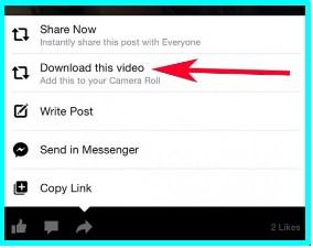 download facebook videos iphone app