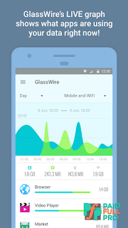 GlassWire Data Usage Privacy Unlocked APK