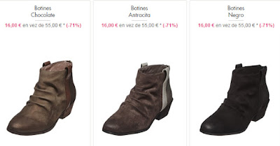 botines casual