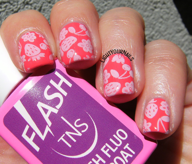 Fruit nail stamping