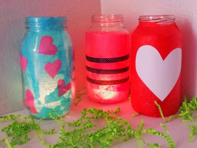 Valentines Craft: Love Lanterns